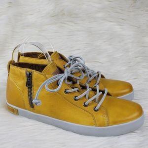 Blackstone JL24 Leather Sneakers Butterscotch 10